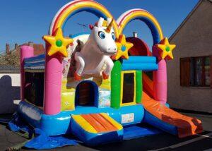 Licorne - Structure gonflable enfants dans l'Oise